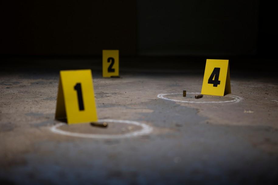 Marcadores de escena del crimen