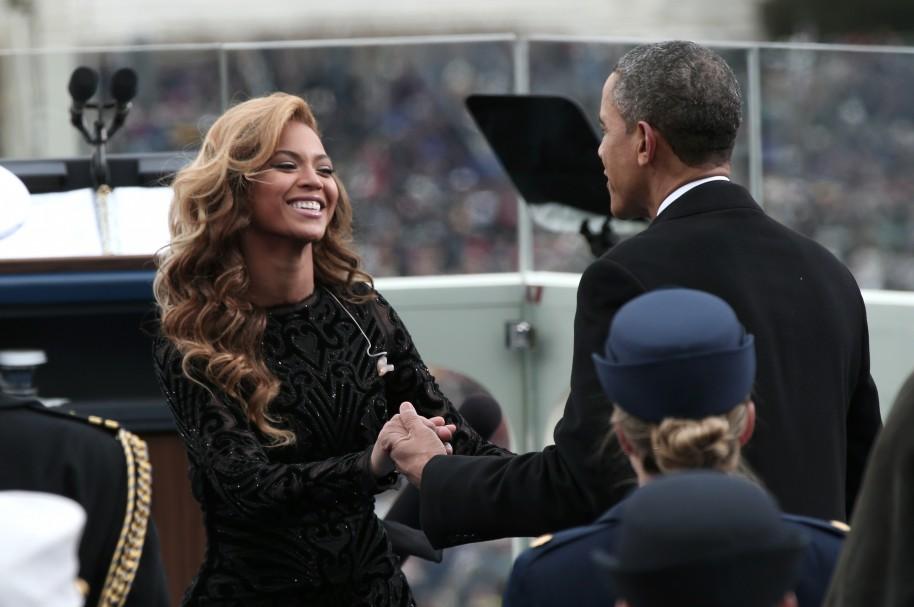 Beyoncé y Obama