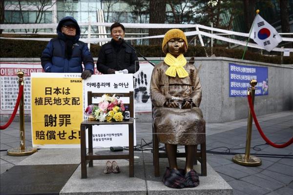 Estatua en Corea del Sur