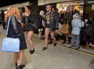 No Pants Subway Ride In Warsaw
