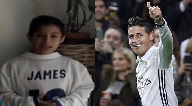 Niño y James