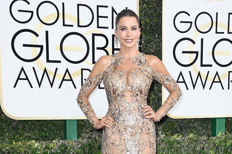 Sofía Vergara en Globos de Oro. Pulzo.com