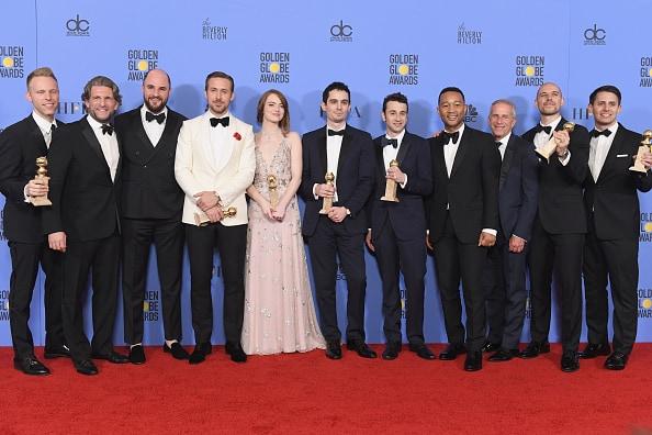 'La La Land' ganadora en los Globos de Oro