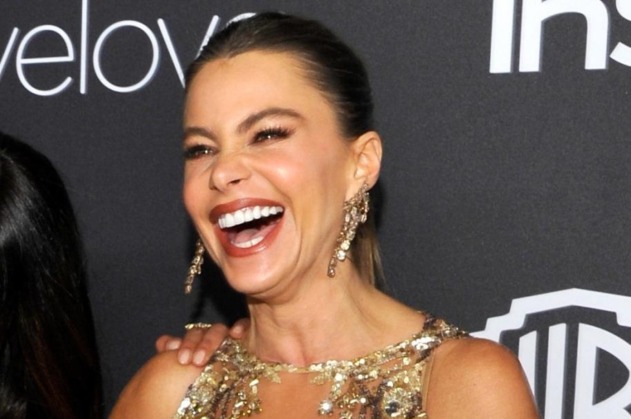 Sofía Vergara en los Golden Globes