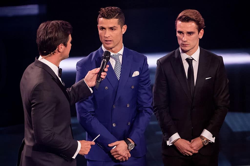 Cristiano Ronaldo y Antoine Griezmann