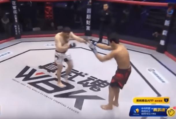 Ibragim Khalilov noquea a su oponente en 3 segundos. Pulzo.com