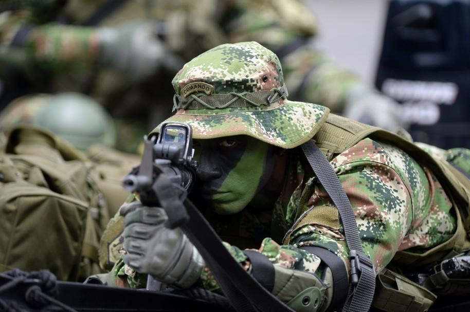 Militar colombiano