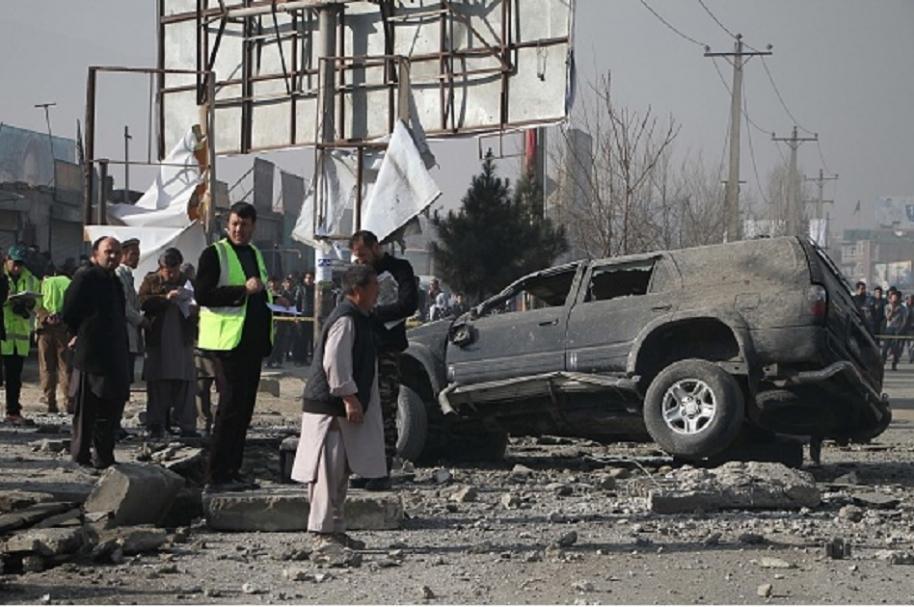 Bomba en Kabul