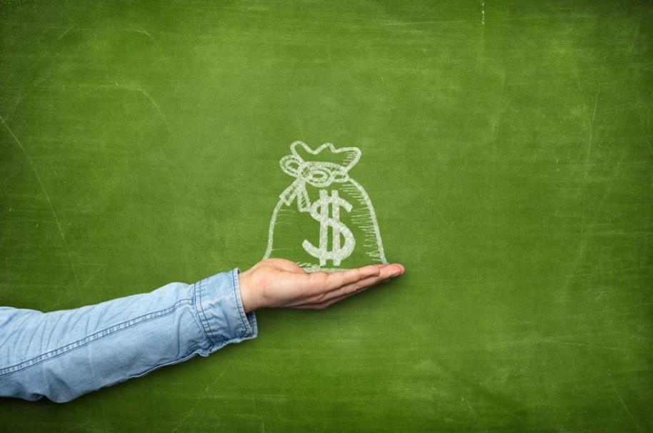 Dibujo bolsa de dinero