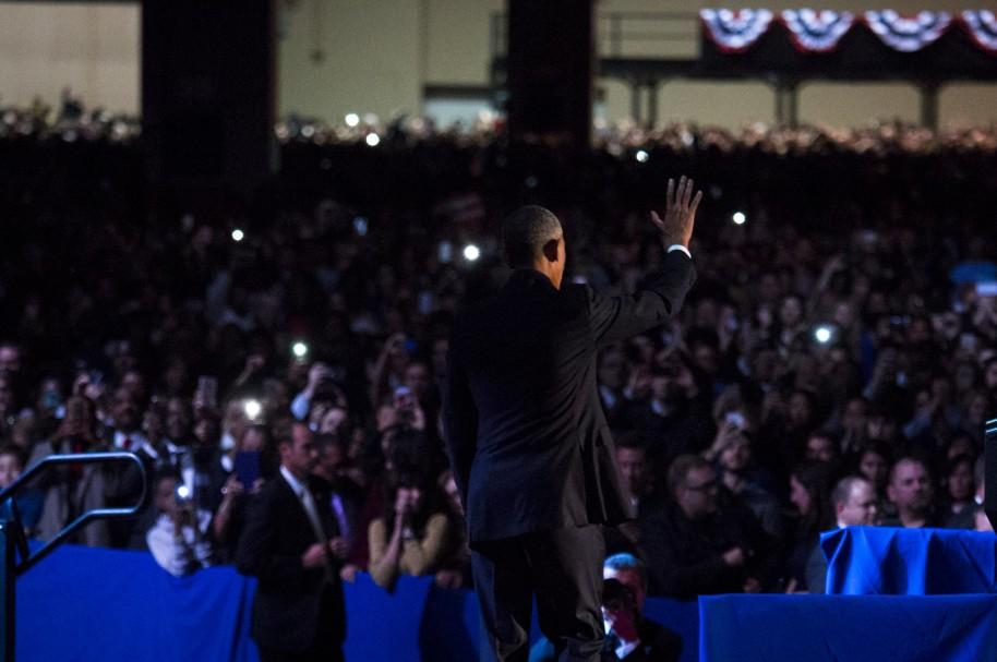 El presidente Obama da su descurso de despedida