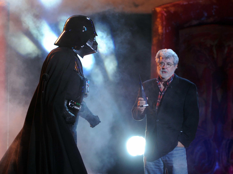 Darth Vader y George Lucas