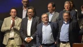 MIembros de las Farc