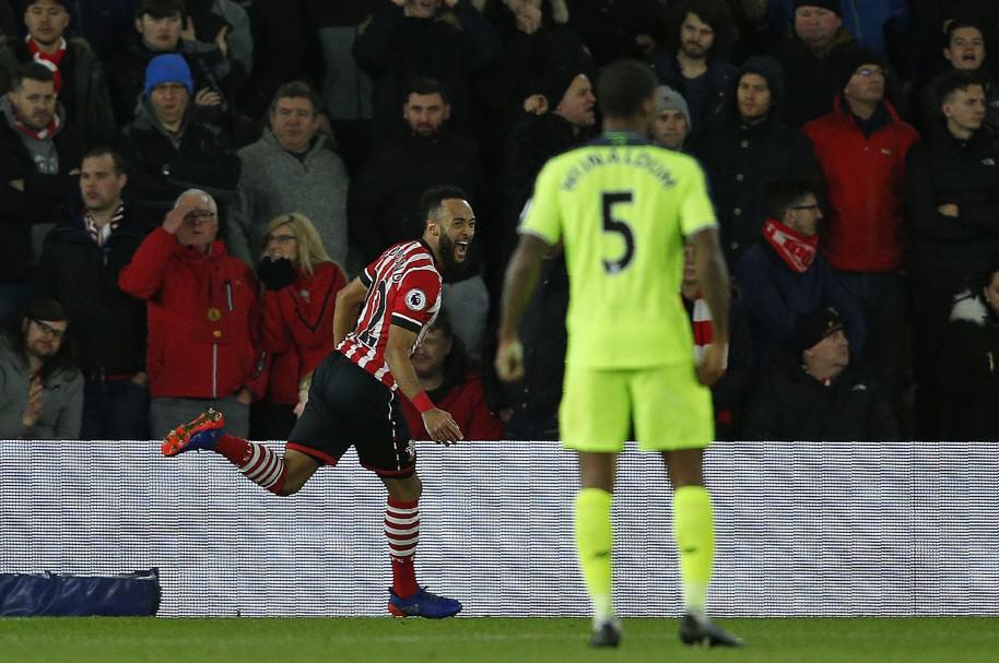 Southampton derrotó a Liverpool 1-0