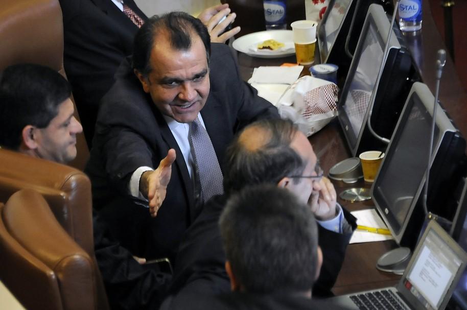 Óscar Iván Zuluaga, en el Congreso