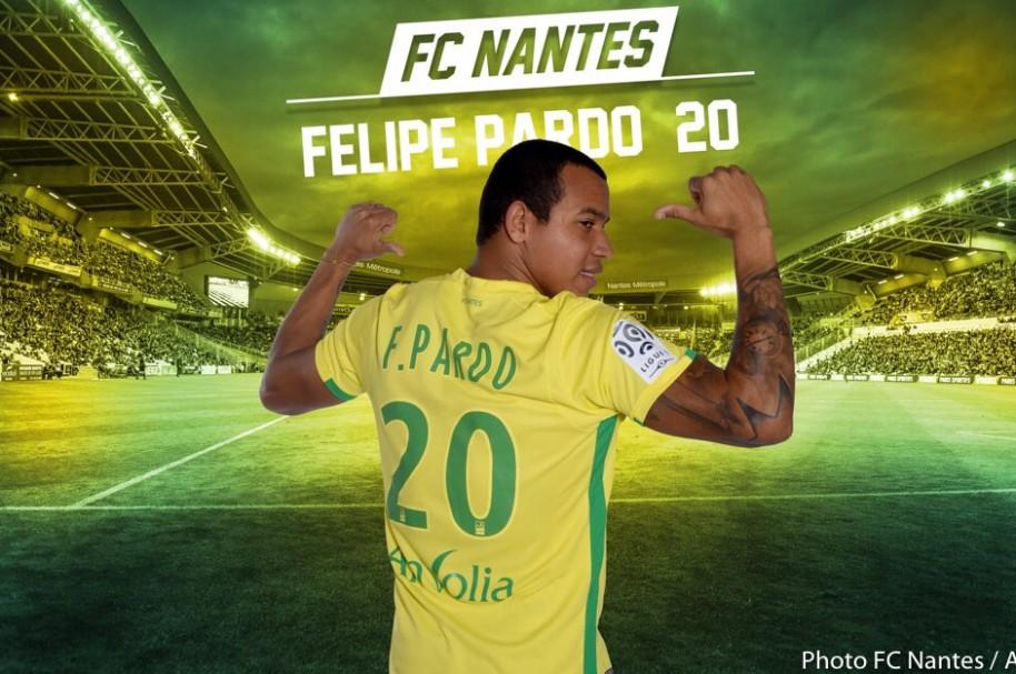 Imagen de Felipe Pardo, en la presentación de su nuevo club