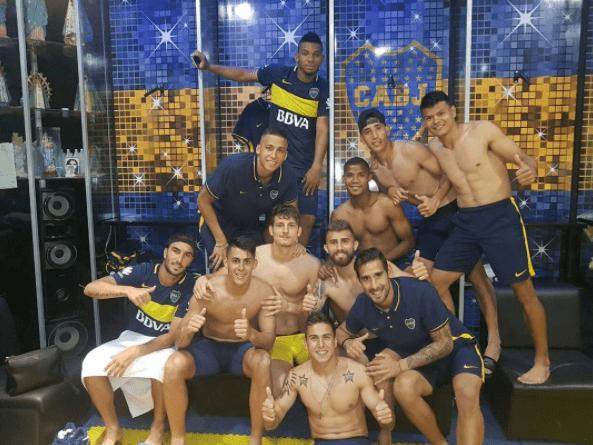 Jugadores del Boca Juniors. Pulzo.com