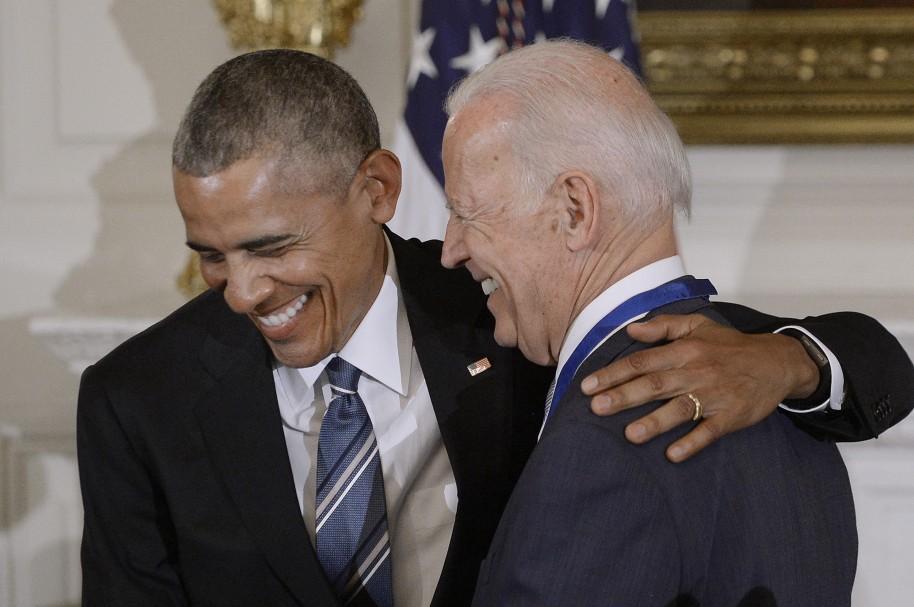 El presidente Obama y el vicepresidente Joe Biden