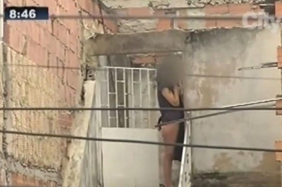 Mujer desnuda en Bogotá