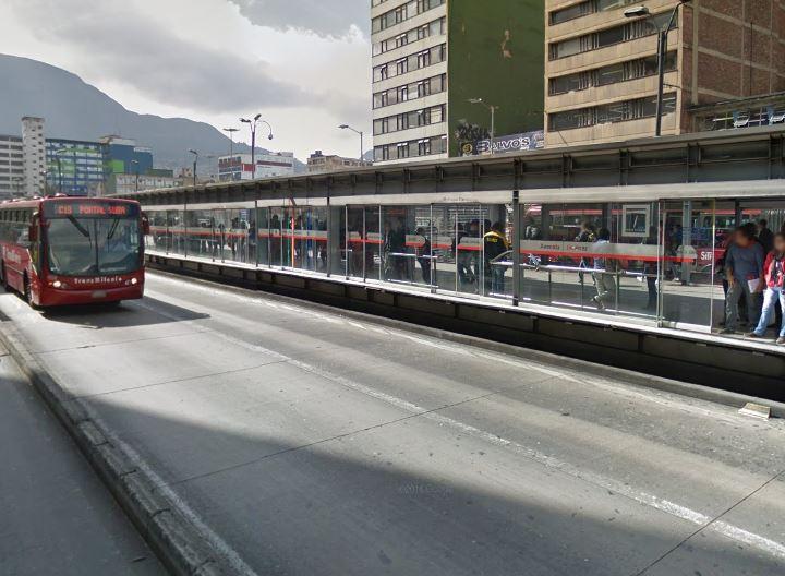 Estación Avenida Jiménez