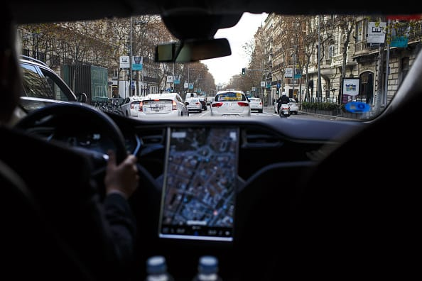 Conduciendo un auto inteligente