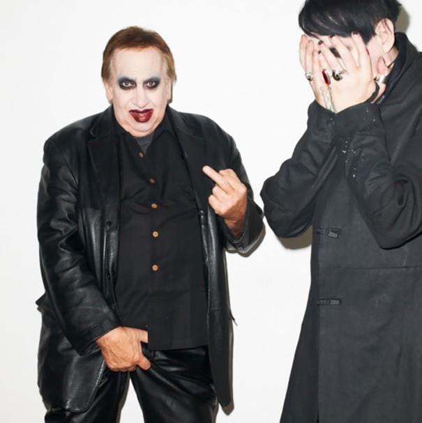 Marilyn Manson y su papá