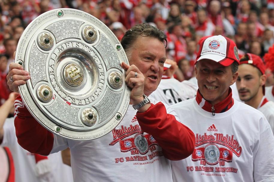En 2010, Louis van Gaal ganó la Bundesliga con el FC Bayern