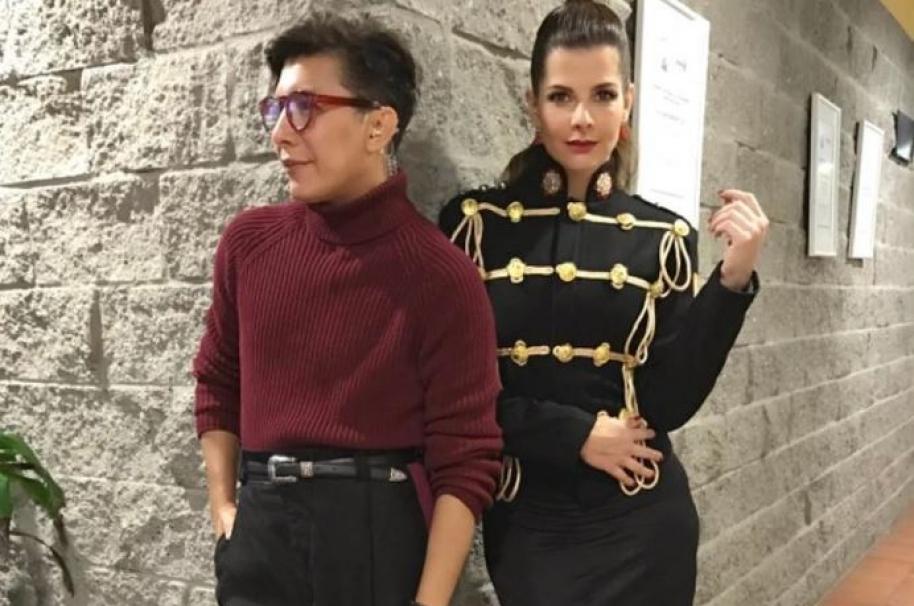 Franklin Ramos y Carolina Cruz
