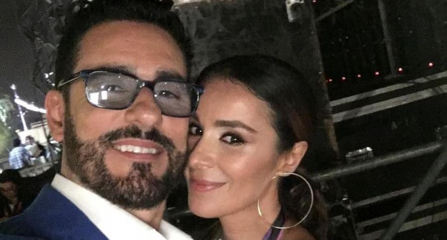 Catherine Siachoque y Miguel Varoni, esposos y actores colombianos.