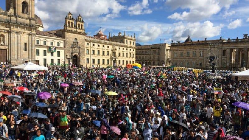 Bogotá, foto de referencia
