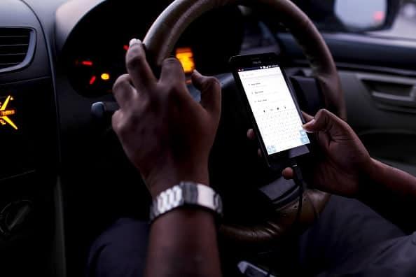 Conductores de transporte por medio de aplicaciones
