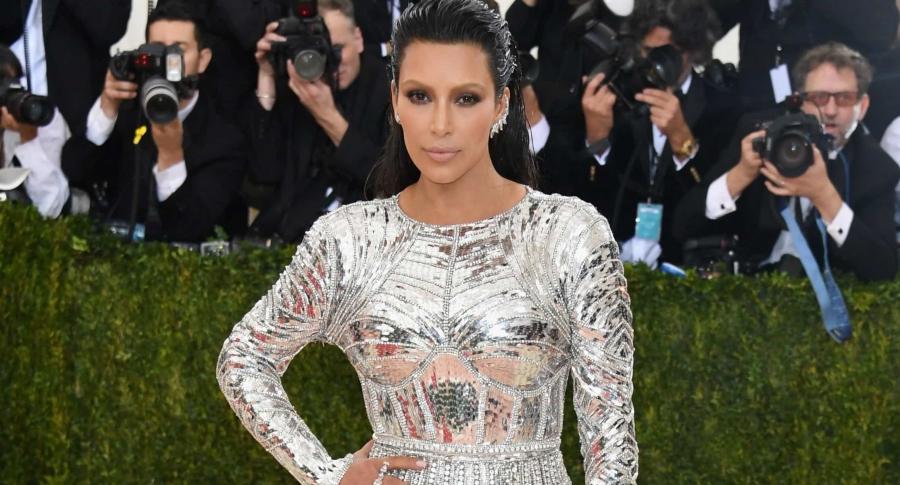 Kim Kardashian en la Met Gala 2016: 'Manus x Machina: Fashion In An Age Of Technology'