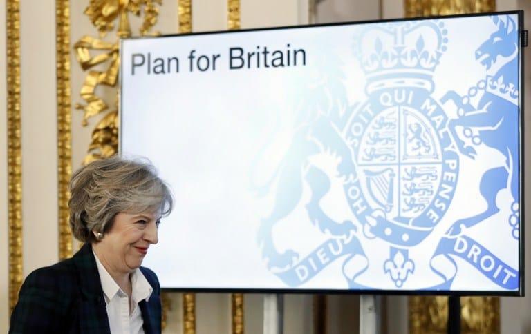 Las cuentas de Theresa May