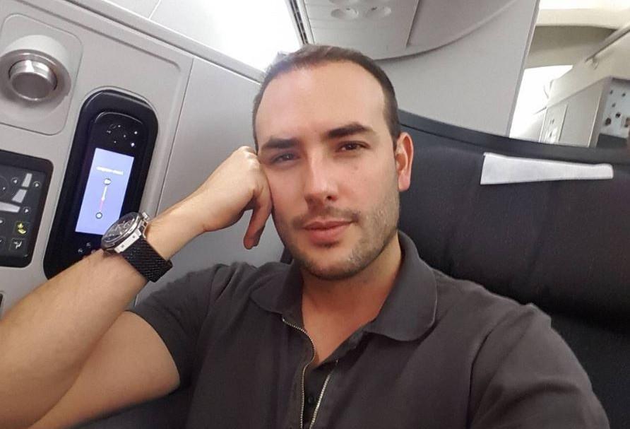 Sebastián Martínez, actor de 'La ley del corazón'.