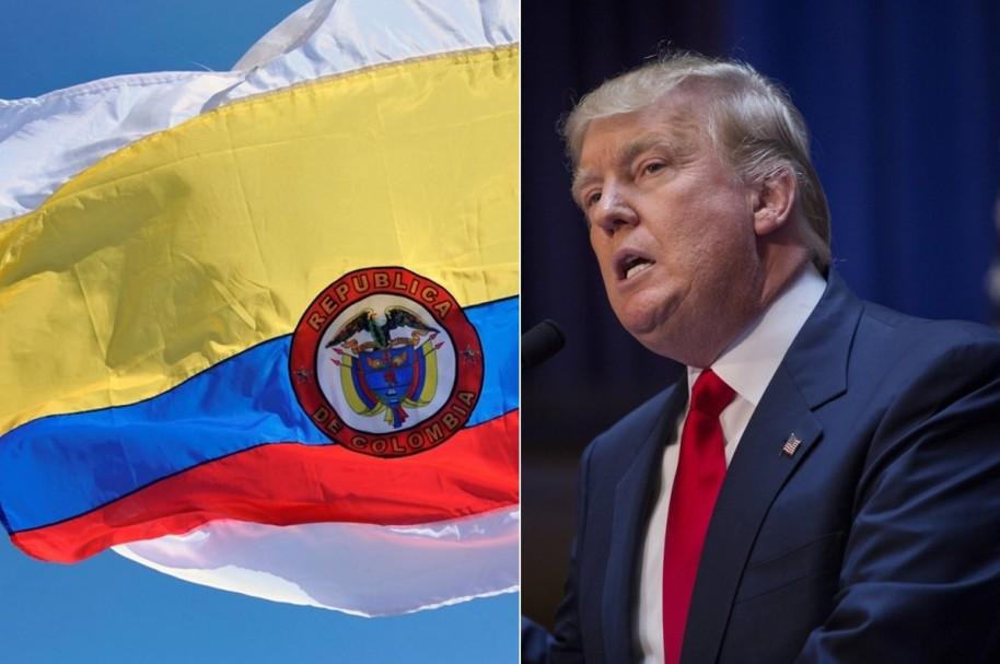Trump y Colombia