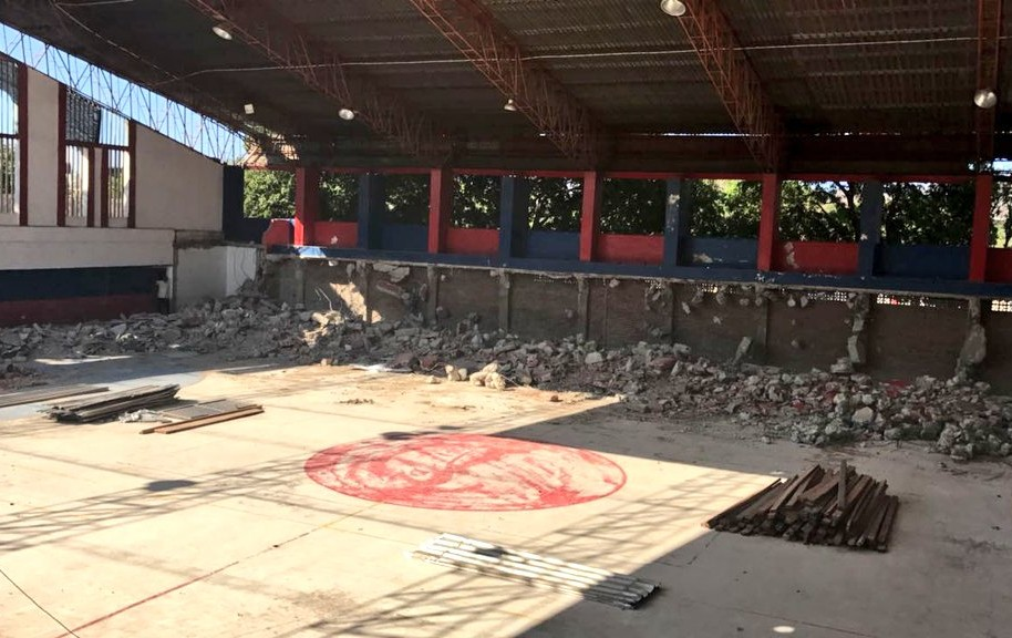 Inició la demolición del Coliseo Menor para dar paso a un nuevo y moderno escenario deportivo.