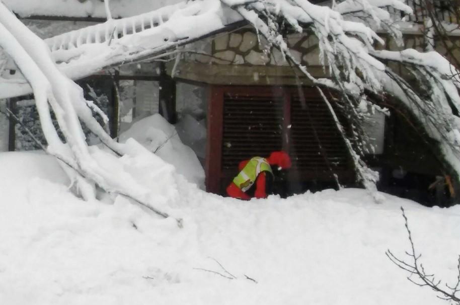 Avalancha en Italia