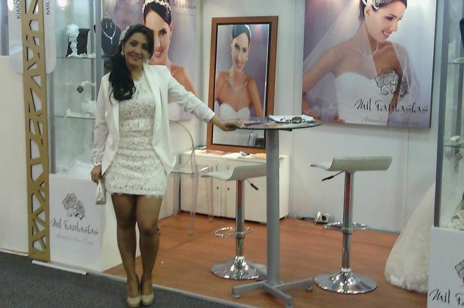 Sandra Patricia Pérez Álvarez, diseñadora de vestidos de novias