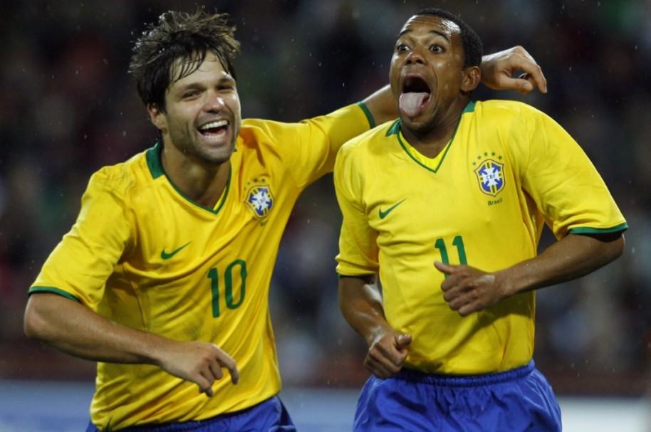 Diego y Robinho