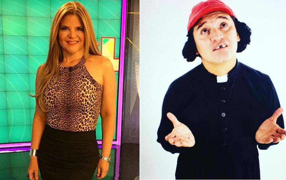 Diva Jessurum, presentadora de 'Show Caracol', y Hassam, humorista de 'Sábados Felices'.