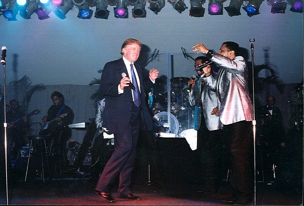 Trump en baile