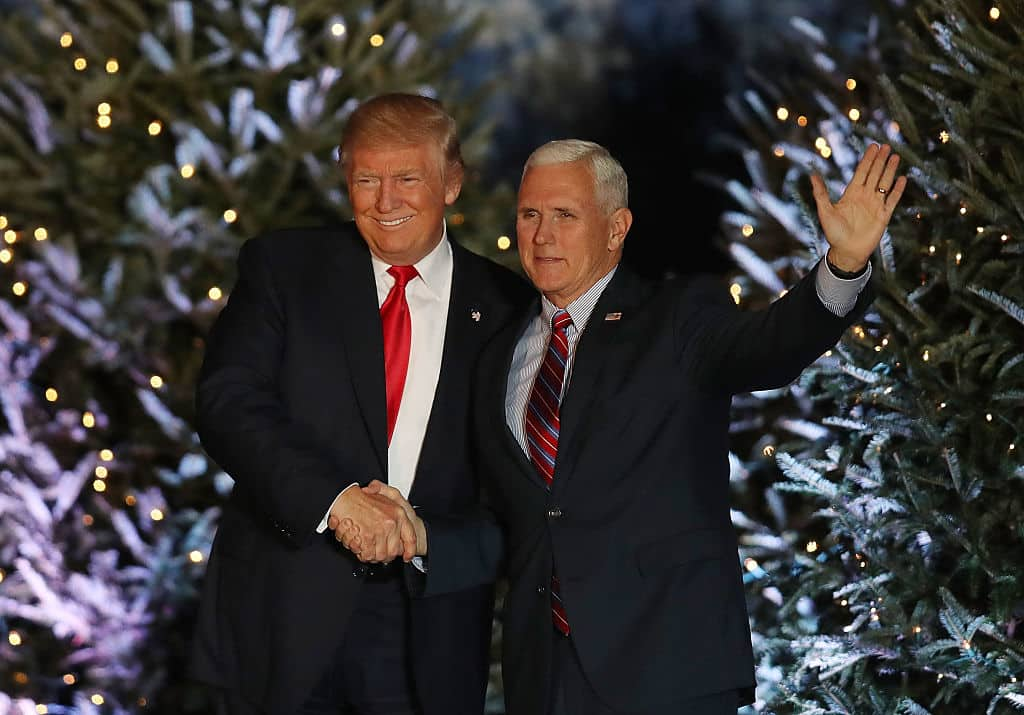 Donald Trump y Mike Pence