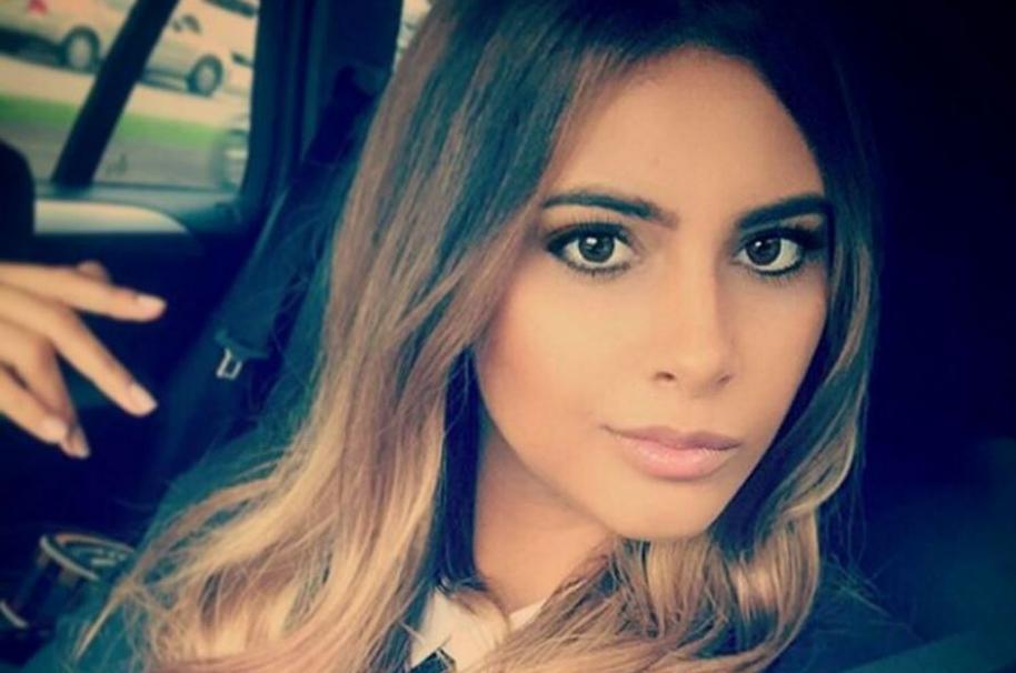 Sofía Cuello, participante de 'Colombia's next top model'.