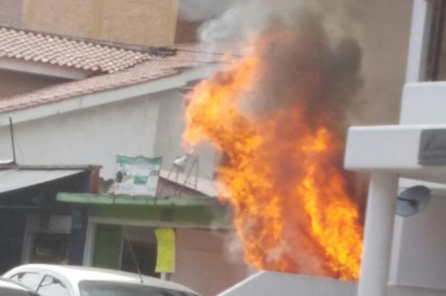 Incendio en restaurante de Usaquén