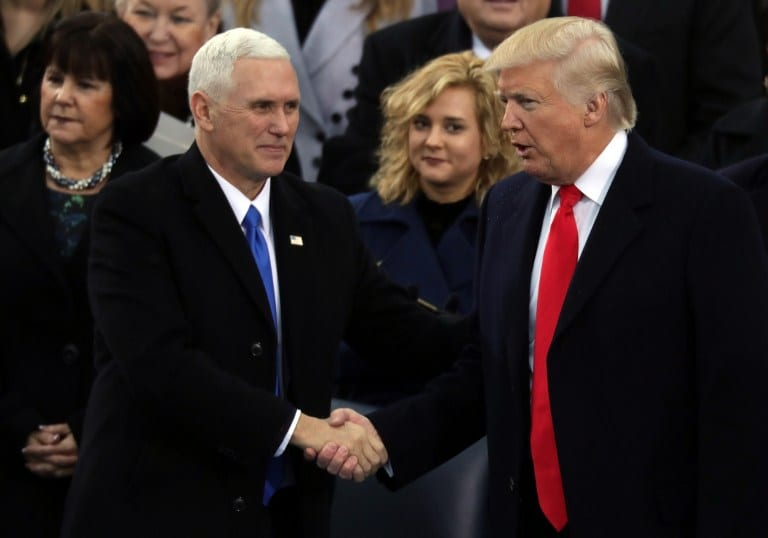 Donald Trump y Mike Pence. Pulzo.com