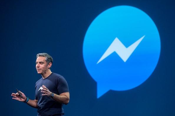 David Marcus da conferencia sobre Facebook Messenger