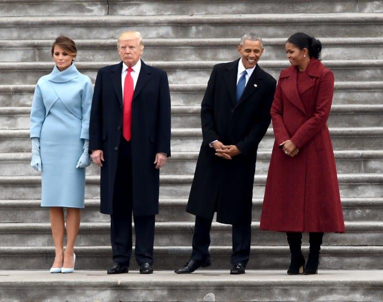 Los Trump y los Obama. Pulzo.com