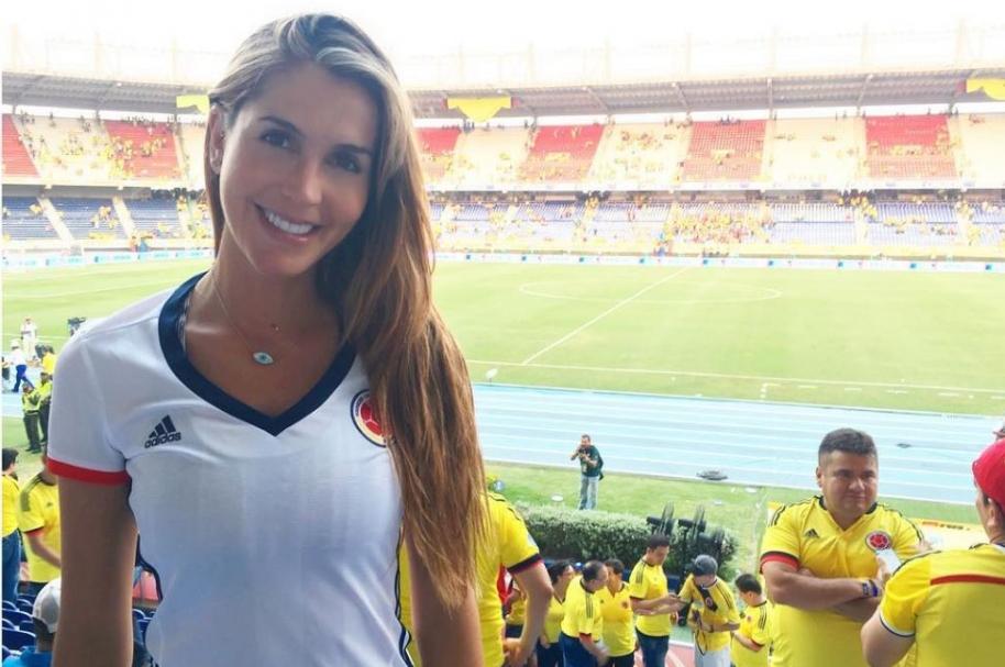 La actriz Isabel Cristina Estrada.