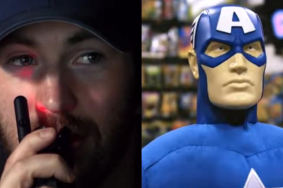 Divertida broma Capitán América