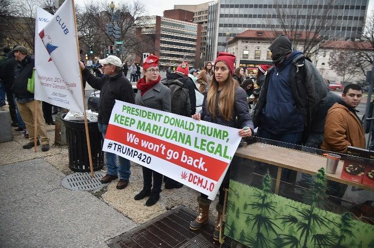 Movilización por la marihuana
