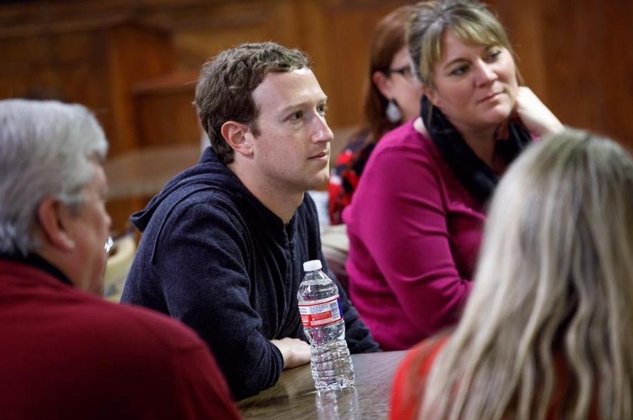 Zuckerberg en campaña